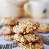 Oat & Banana Healthy Cookie Recipe teaser image